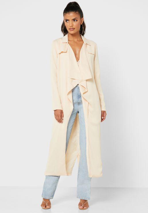 معطف طويل وانيق