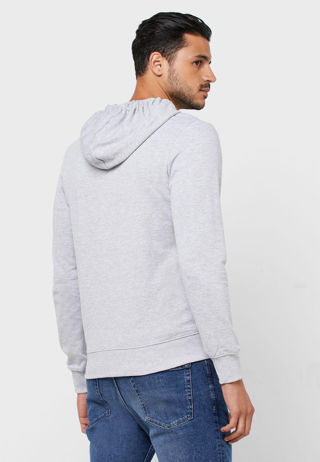 Stronger Zip Through Hoodie