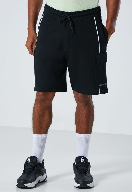 Piping Utility Pocket Shorts