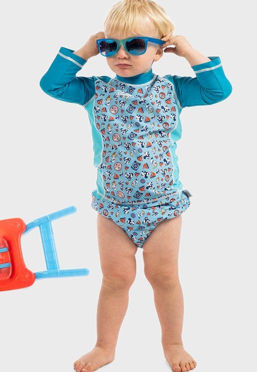 Infant Mickey Sailor Diaper