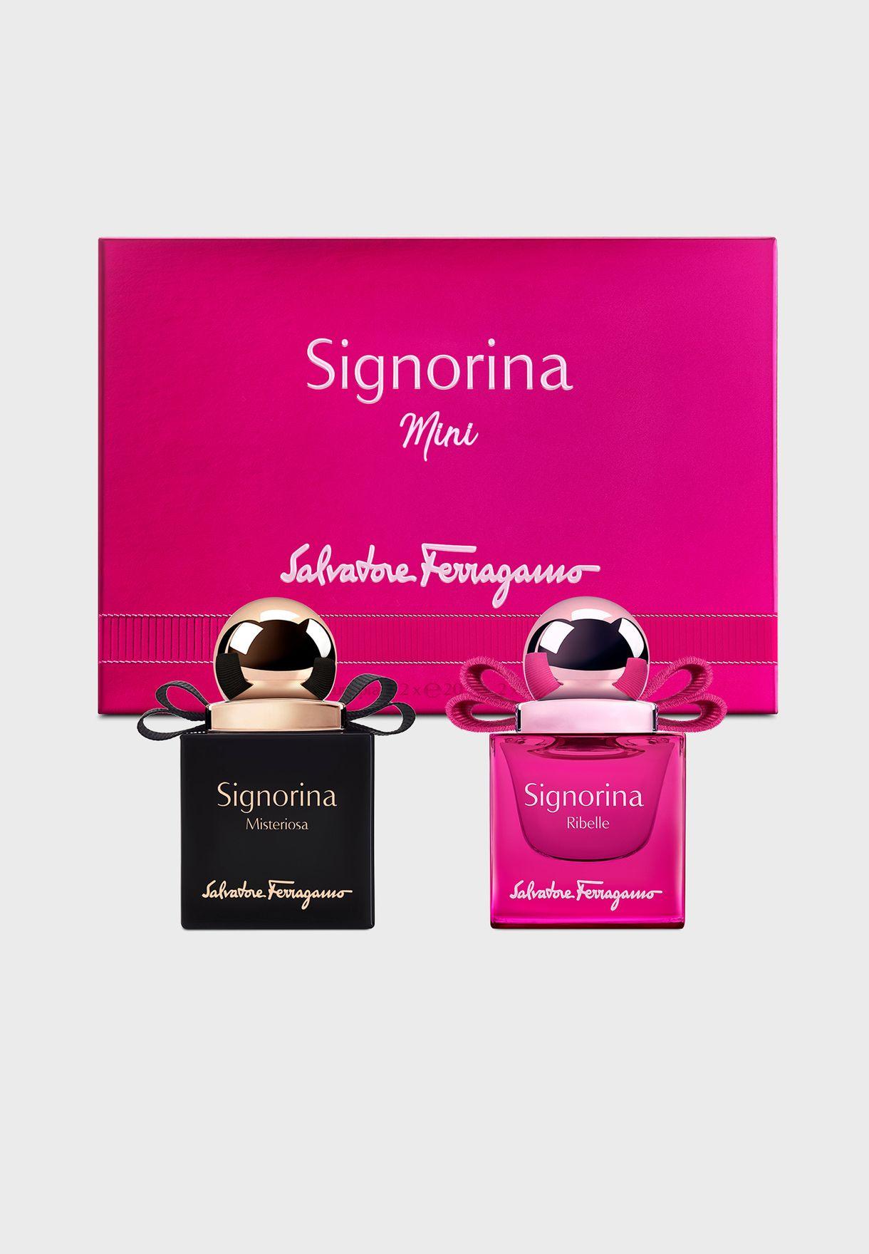 Mini Signorina Misteriosa + Eleganza Eau de Parfum Set