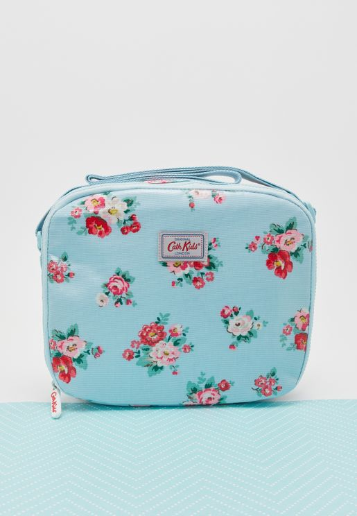 Floral Islington Lined Lunch Bag