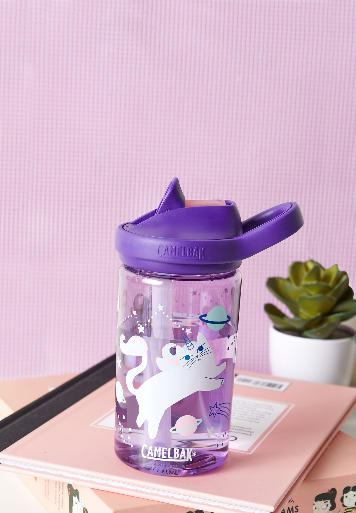 Eddy Kosmic Kitties Water Bottle - 415ML