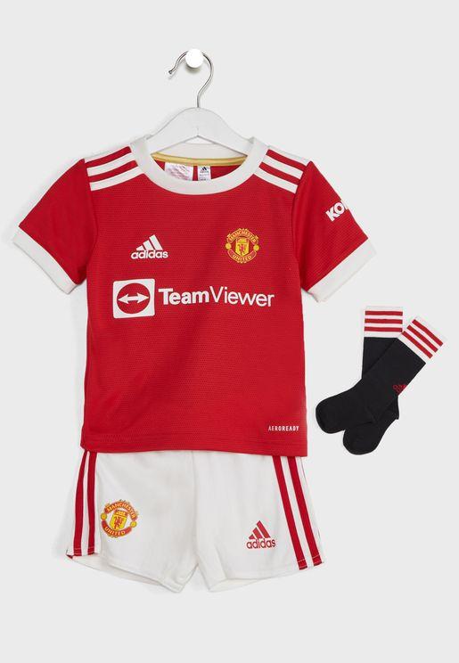 Kids Manchester United Home Mini Set