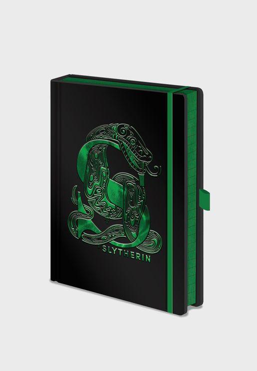 Harry Potter Slytherin Foil Notebook