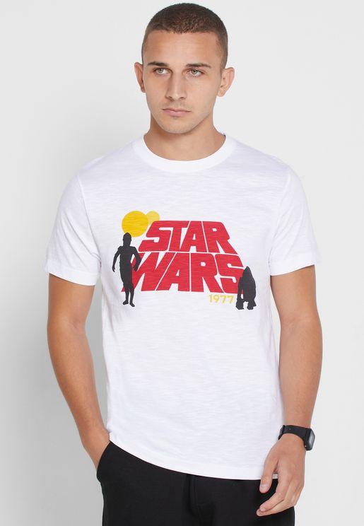 Star Wars Crew Neck T-Shirt