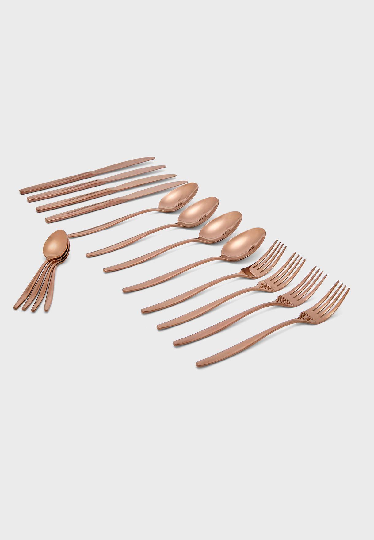 طقم أدوات مائدة (16 قطعة)
