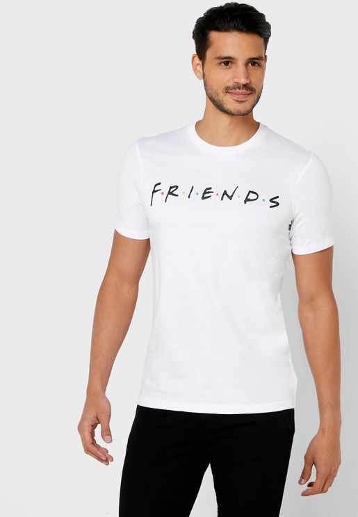 Friends Crew Neck T-Shirt