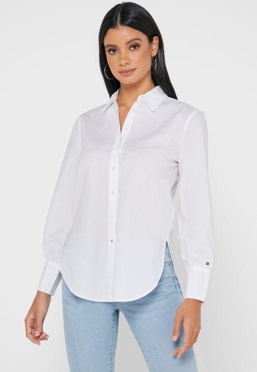 قميص متباين الطول