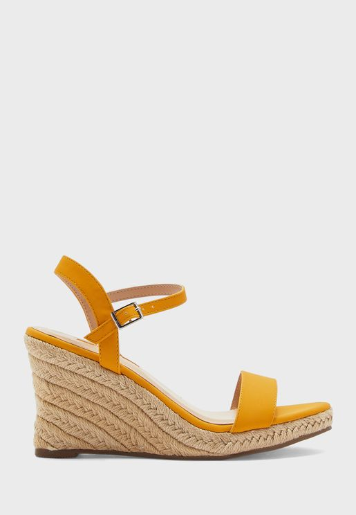 Ray-Ray Ankle Strap Wedge Sandals