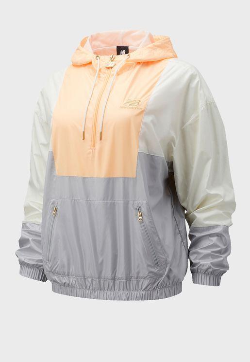 Athletics Anorak Colour Block Jacket