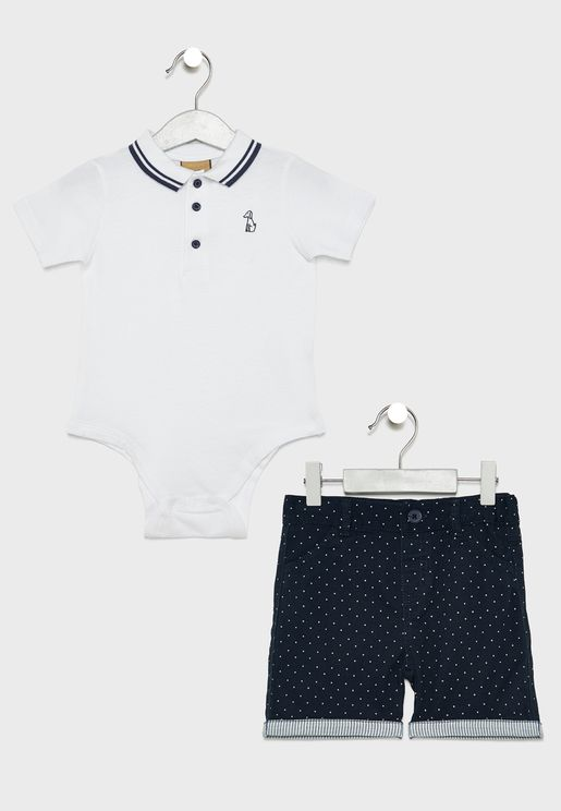 Infant T-Shirt + Shorts Set