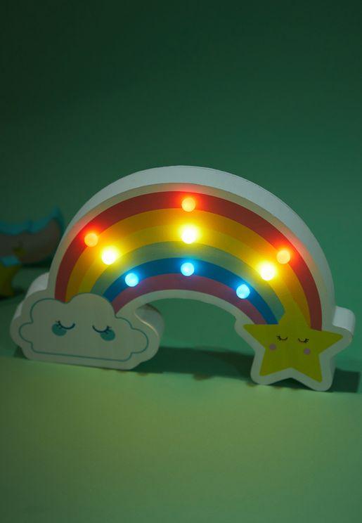 Rainbow Kids Marquee Light