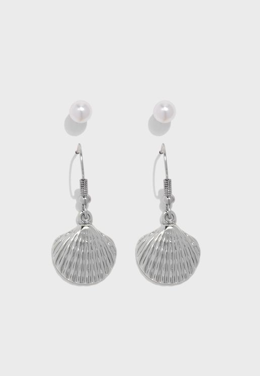 Multipack Nara Sea Shell Earrings