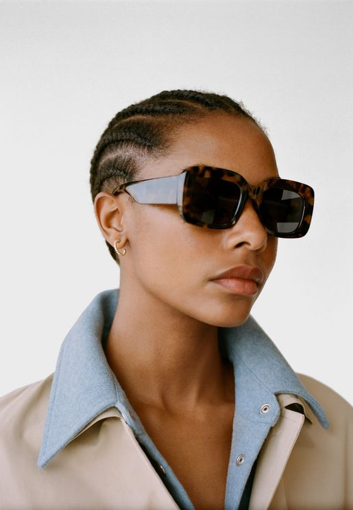 Kanye Square Sunglasses