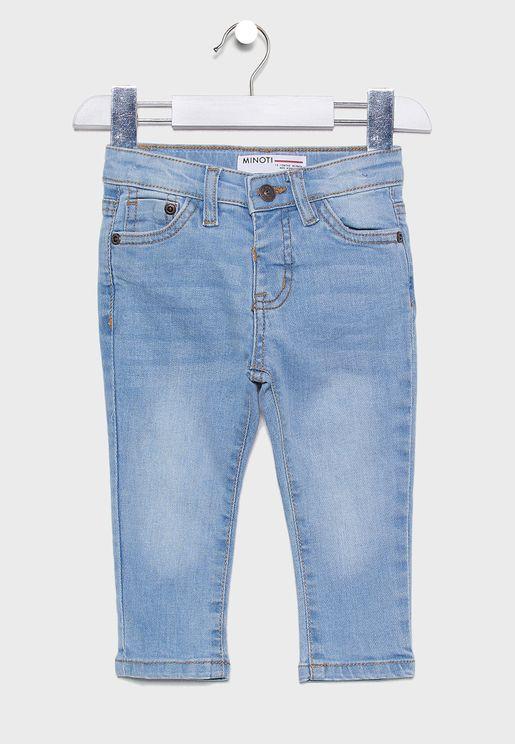 Infant Light Wash Regular Jeans