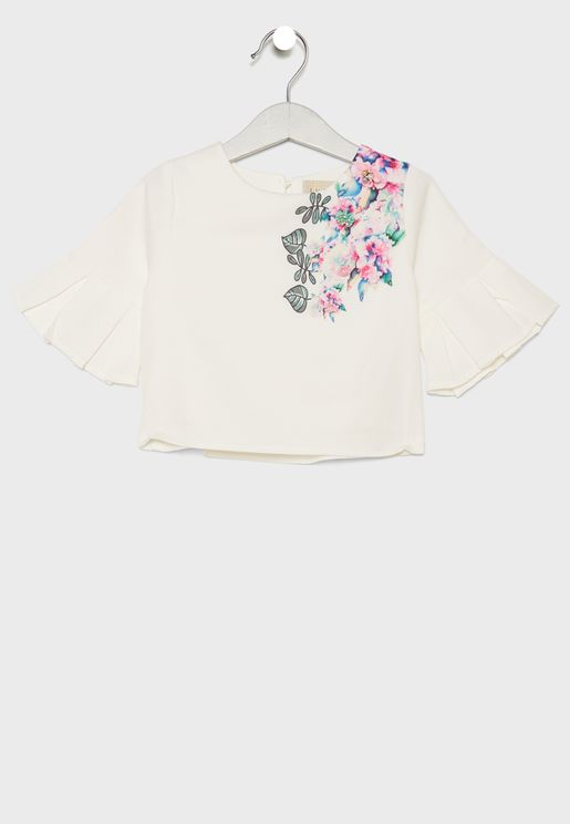 Little Embroidered Top