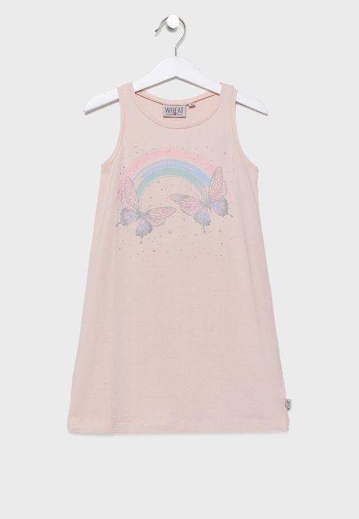 Little Rainbow Dress