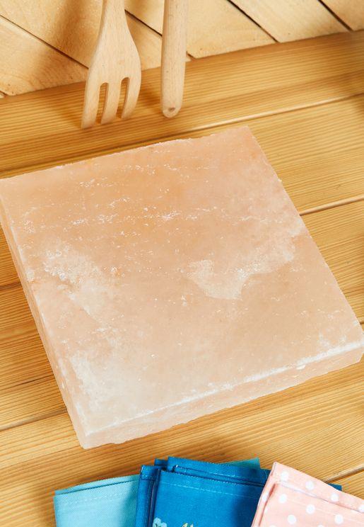 Square Natural Salt Tile