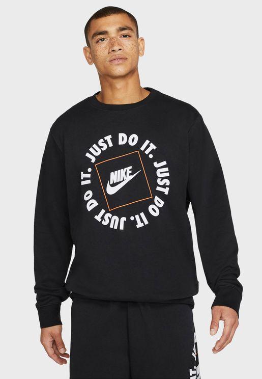 NSW Just Do It Fleece Sweatshirt