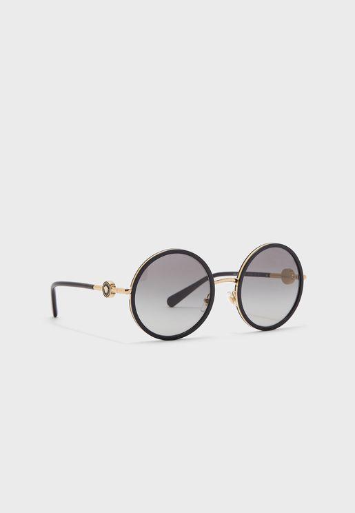 نظارة شمسية دائرية 0Ve2229