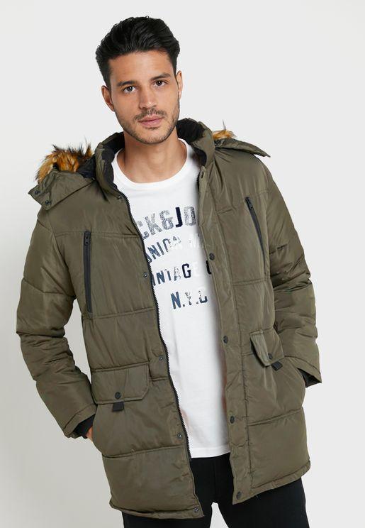Mario Fur Puffer Jacket