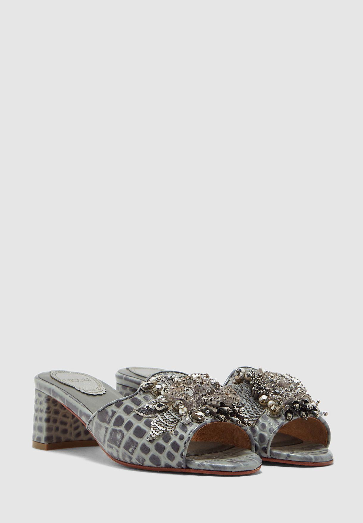 Firuna Block Heel Sandal