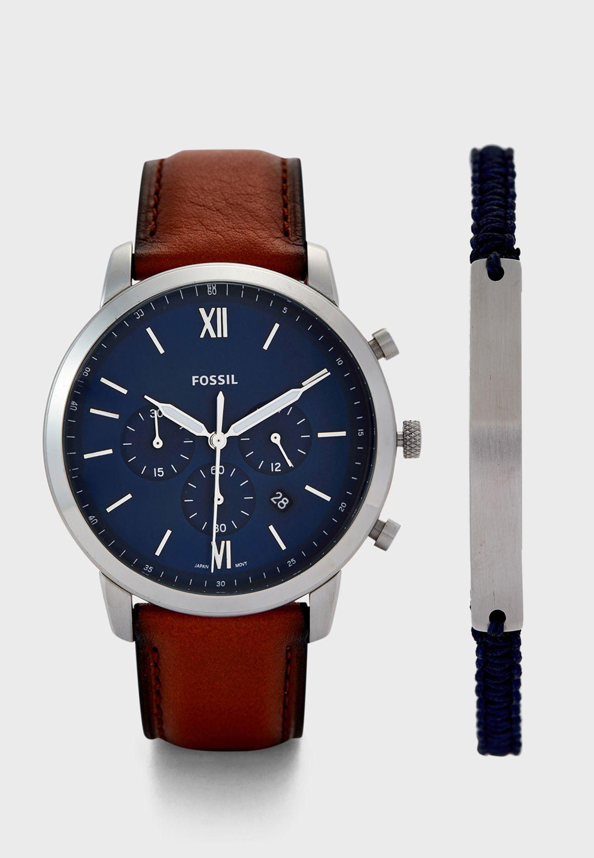 FS5708SET Analog Watch + Bracelet Set