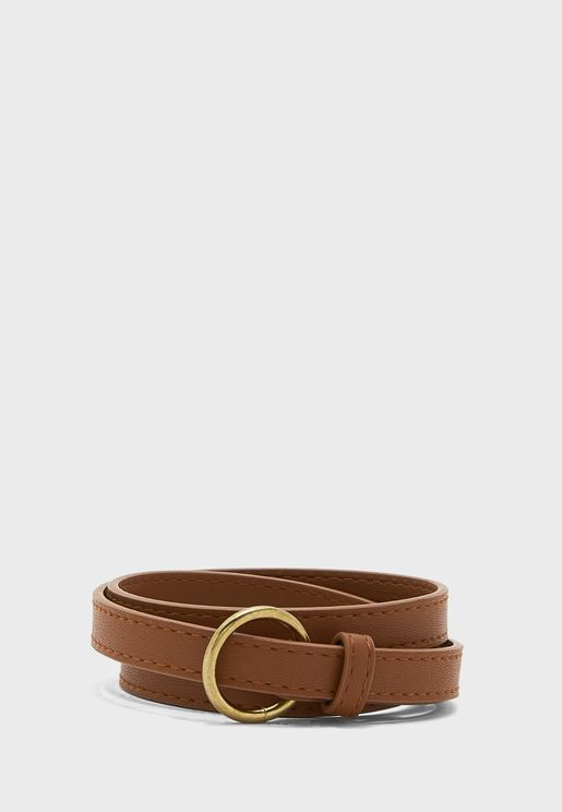 Knotted Loop Waist Belt