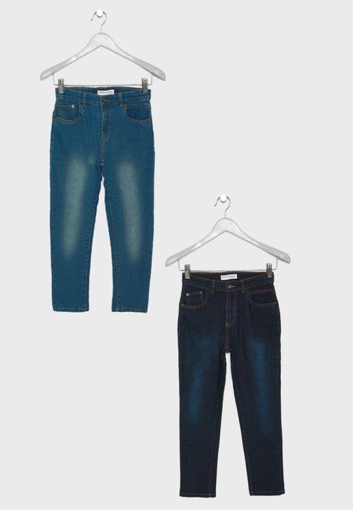 بنطال جينز عدد 2