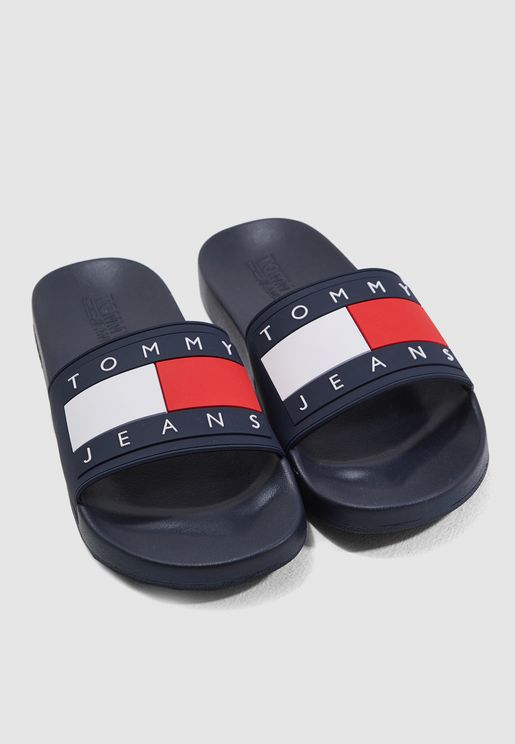 f8d1ac5c439 Tommy Jeans Flag Pool Slide
