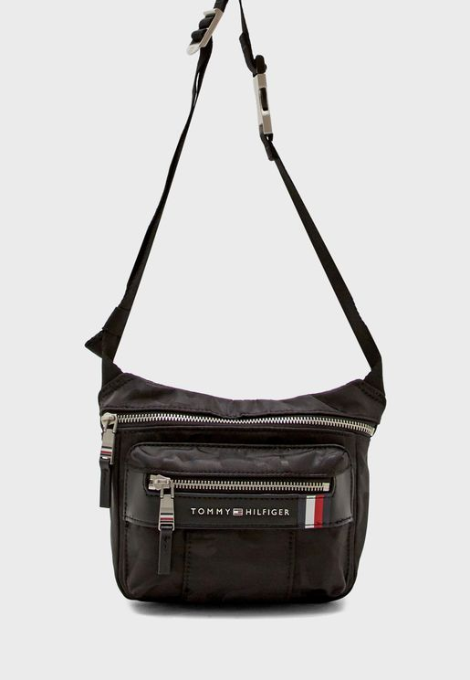 Elevated Camo Messenger Bag