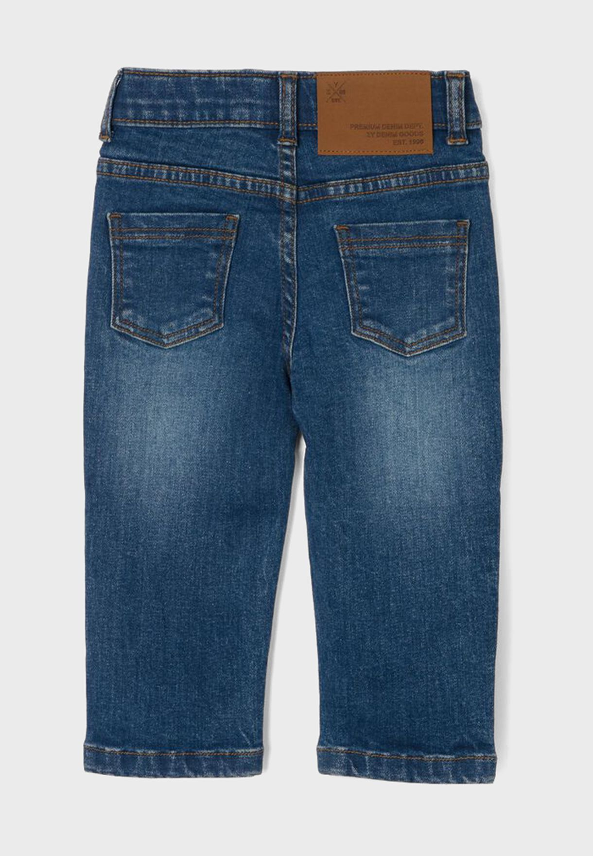 Infant Mid Wash Straight Jeans