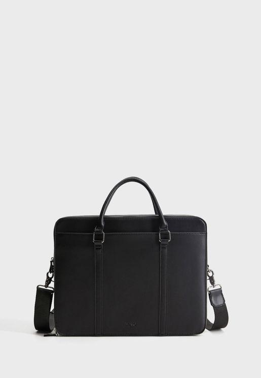 Newyork Zip Closure Messenger Bag
