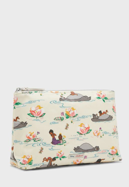 Jungle Book Character Cosmetic Bag