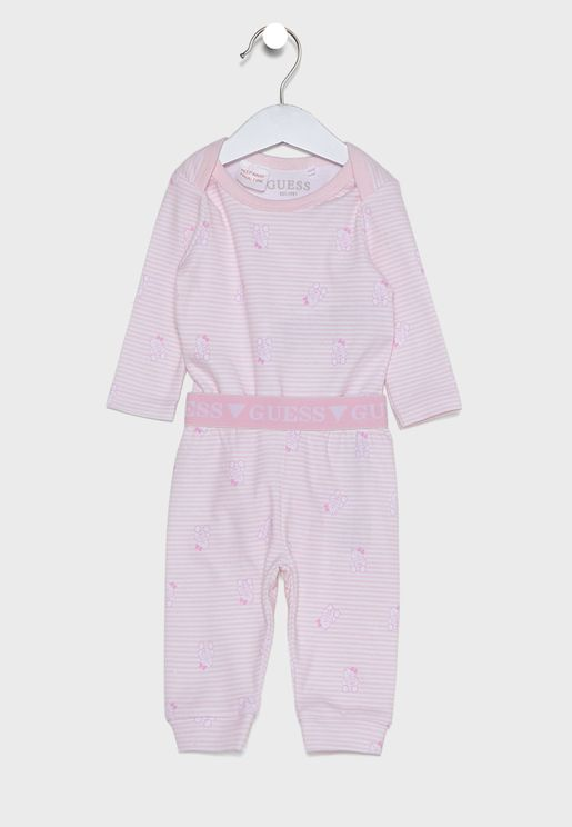 Infant Logo Bodysuit + Sweatpants Set