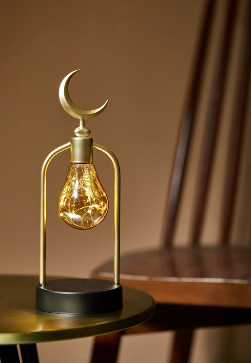 Double Bulb Table Lamp