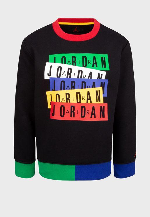 Kids Jordan Legacy Of Spirit Sweatshirt