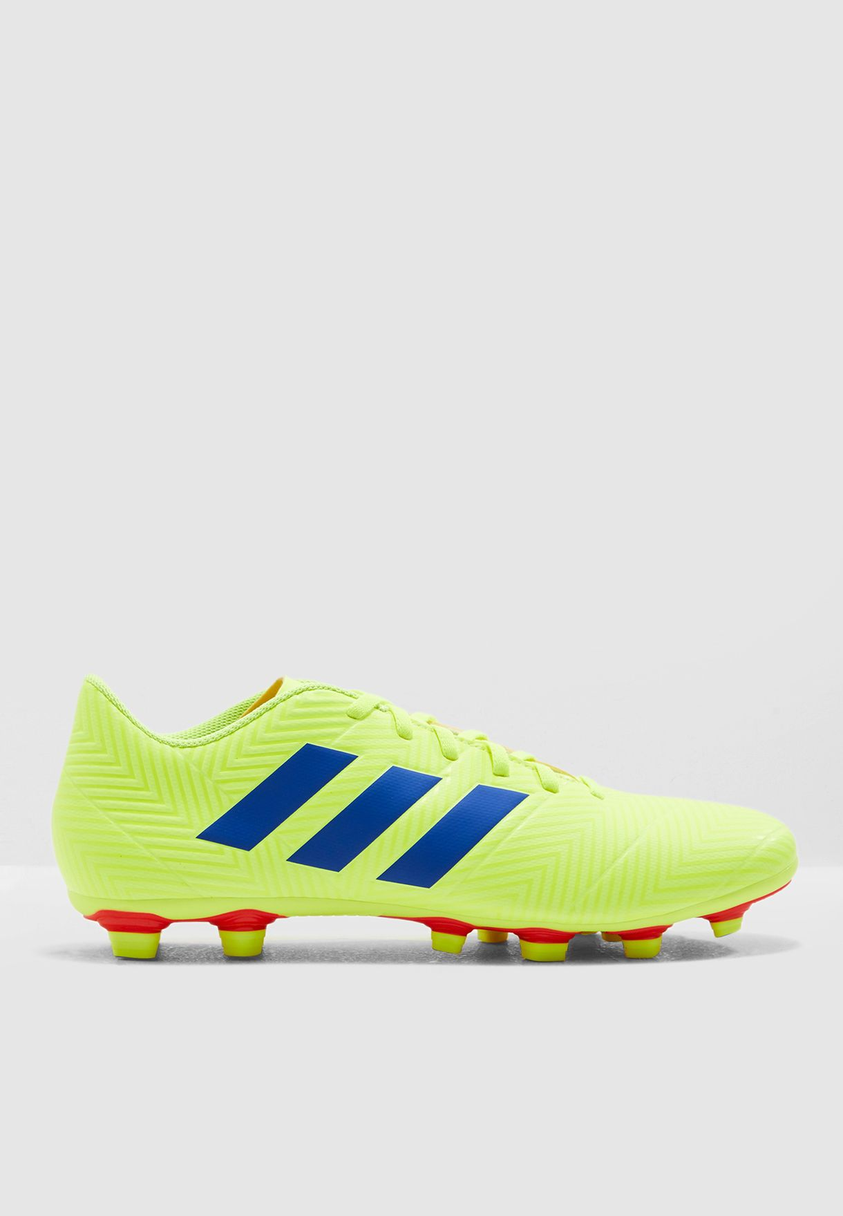 f0b6ade215b Shop adidas yellow Nemeziz 18.4 FG BB9440 for Men in UAE - 14448SH79YTP