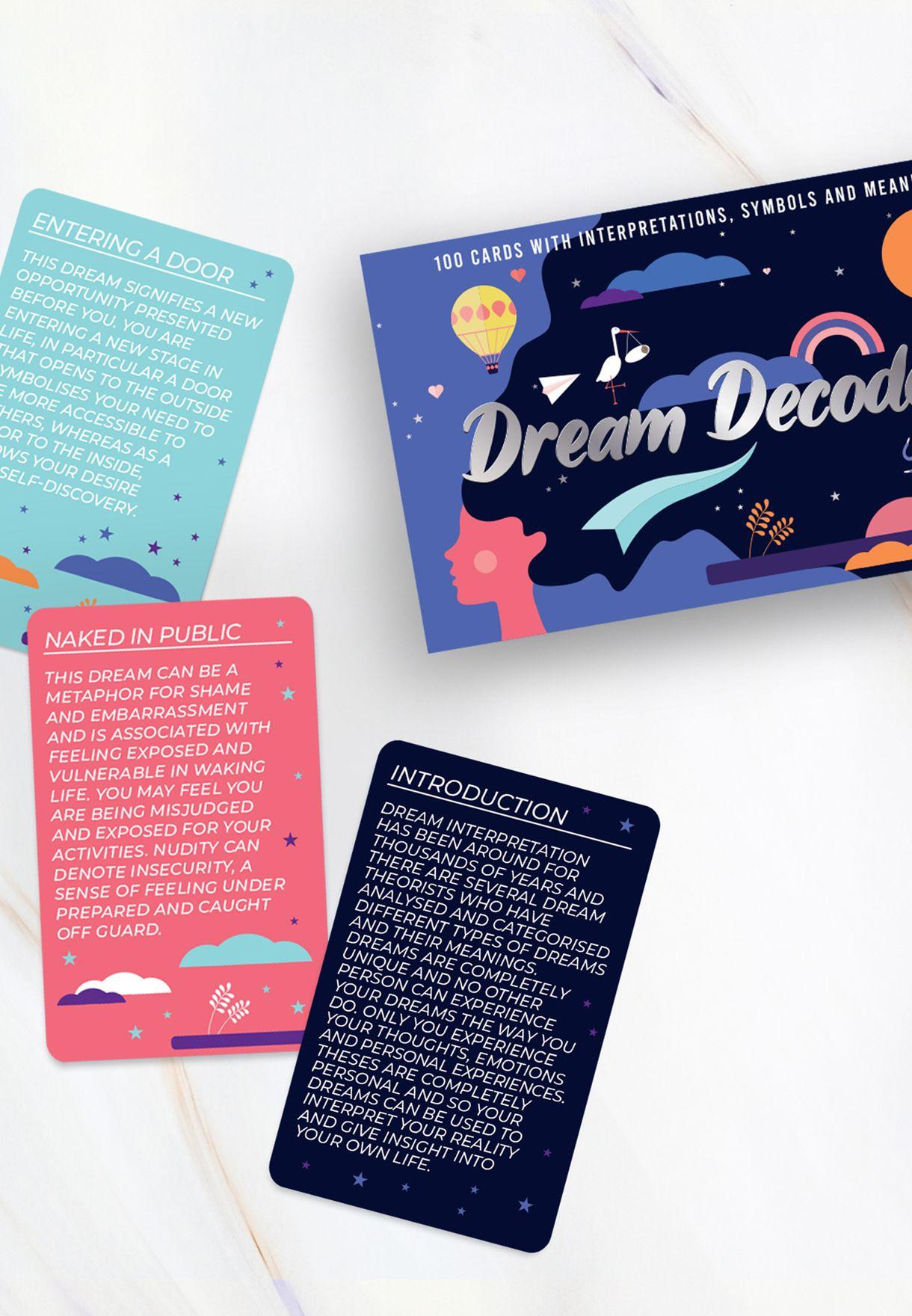 Dream Decoder Trivia Cards