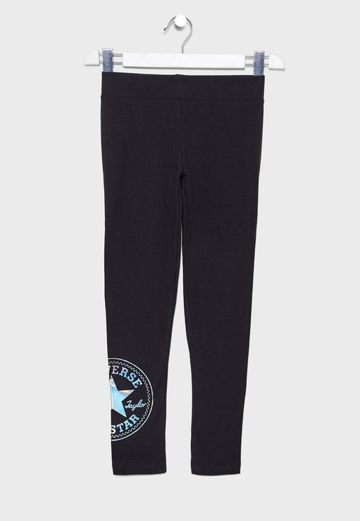 Youth Oversize Chuck Patch Leggings