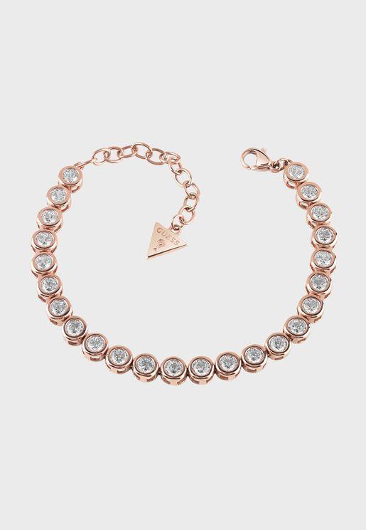 Big Crystals Tennis Bracelet