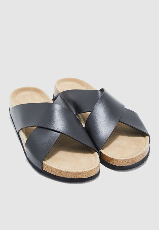 5d4c1e35c2ee Cross Strap Sandals