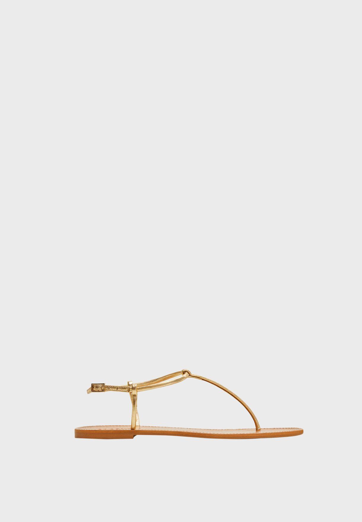 Formen Flat Sandal