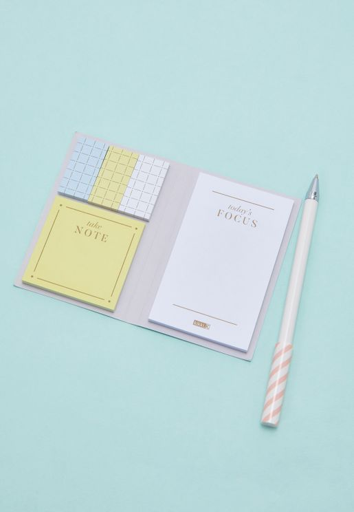 Less Is More Adhesive Note Set