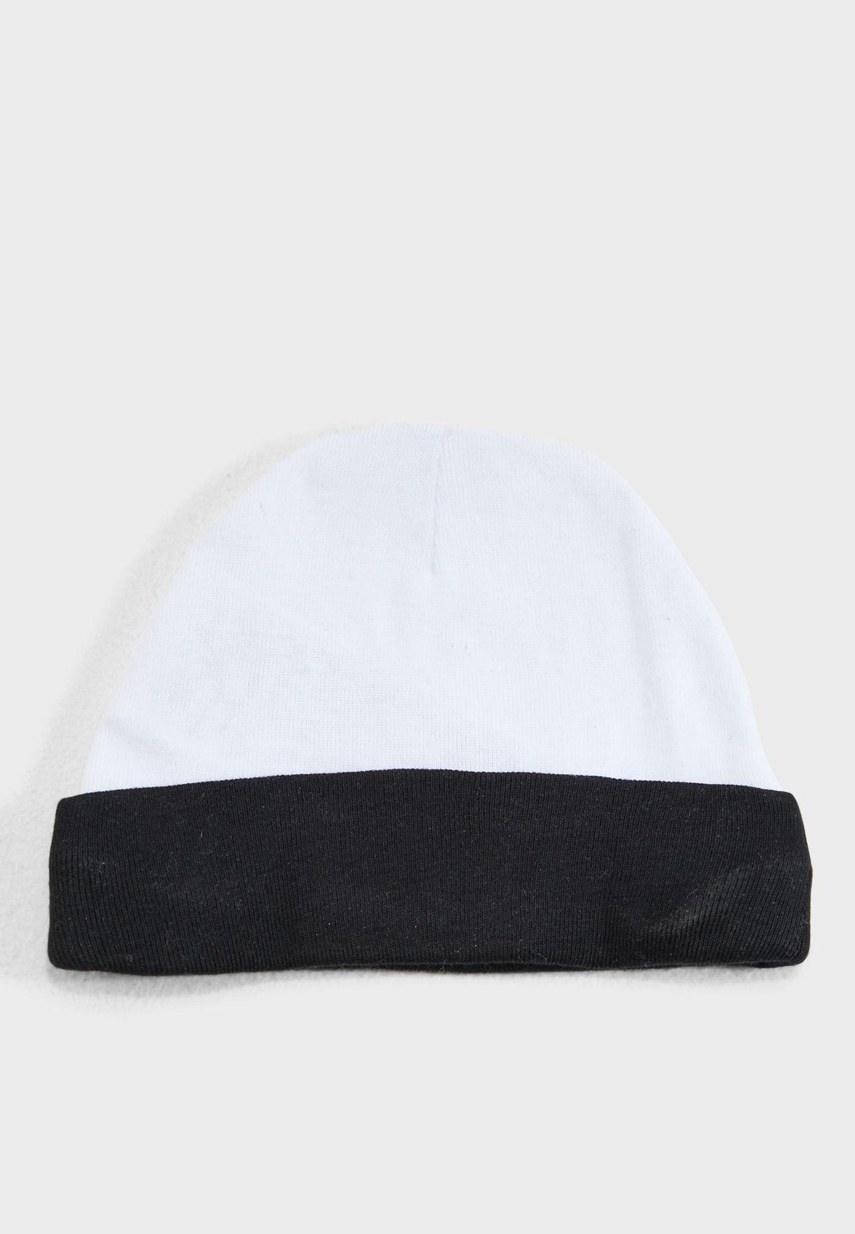 Jordan Hat And Bootie Set