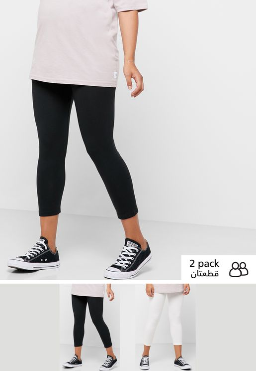 2 Pack 3/4 Leggings