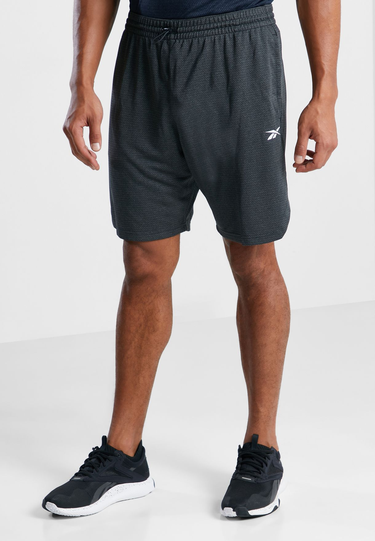 Workout Ready Mélange Knit Shorts