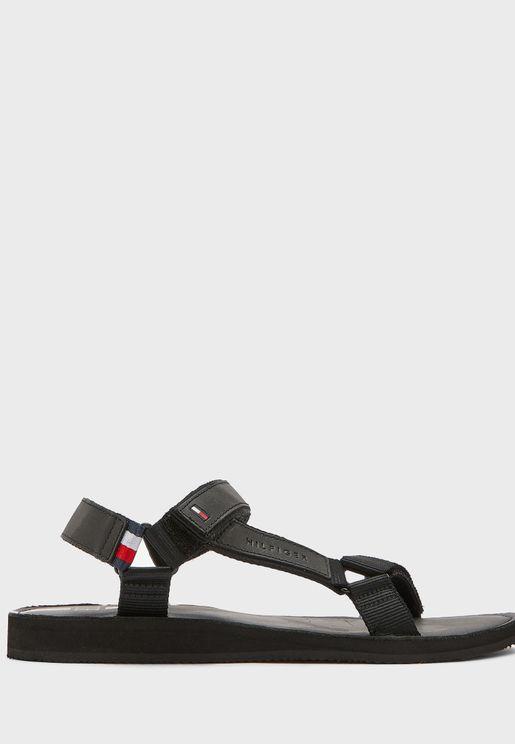 Strappy Corporate Sandals