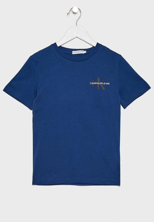 Kids Monogram T-Shirt